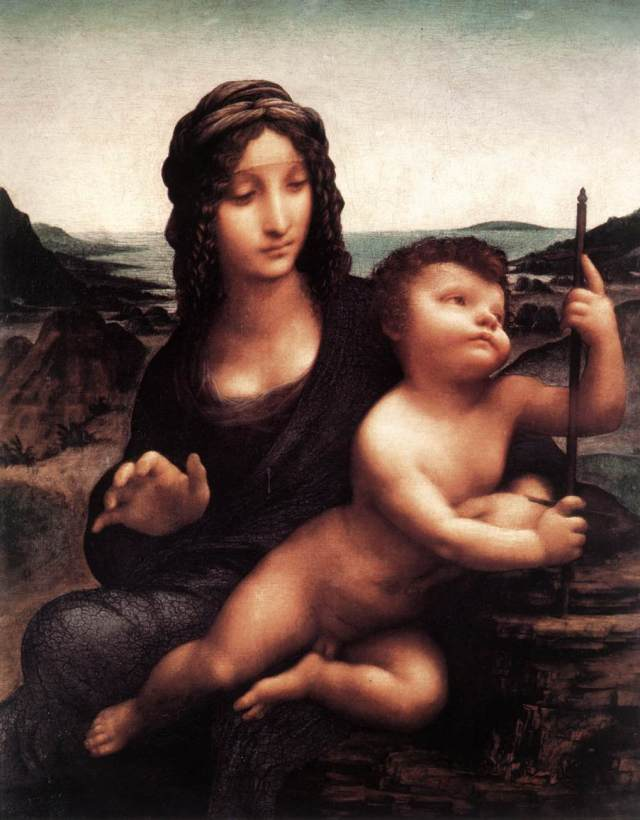 Leonardo_da_Vinci,_Madonna_of_the_Yarnwinder,_Buccleuch_version