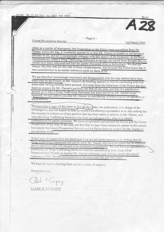 Garner solicitor unhappy page 2